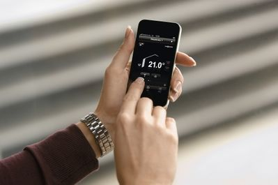 mit dem smartphone die heizung steuern viessmann. Black Bedroom Furniture Sets. Home Design Ideas
