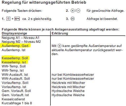 Gelöst: Niedrige Kesseltemperatur im Heizbetrieb - Viessmann ...